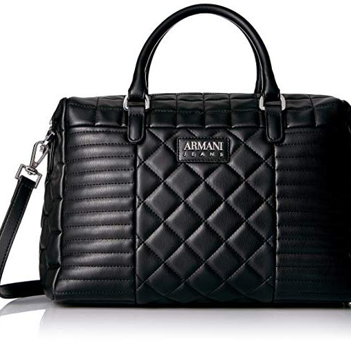 Armani Jeans dámska kabelka Faux Quilted Boston Bag - Stile Italiano cc984a31fb4